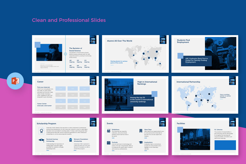 University Education - PowerPoint Template