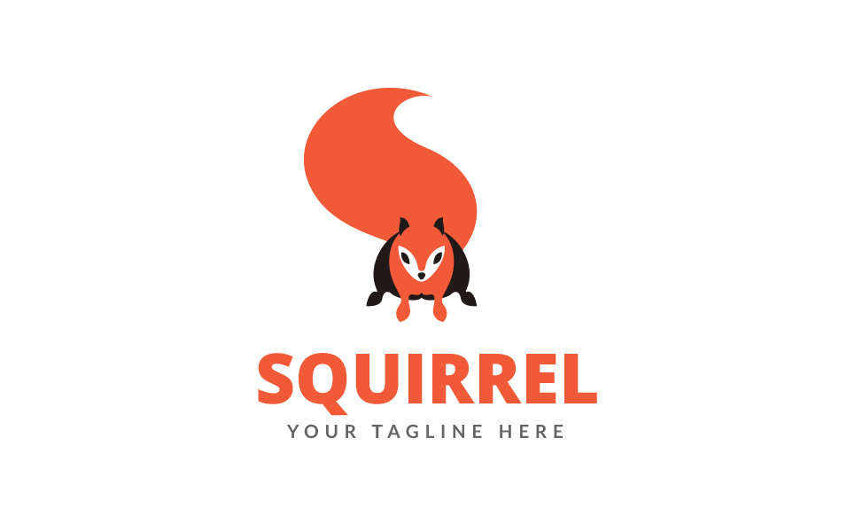 Squirrel Logo Logo Template