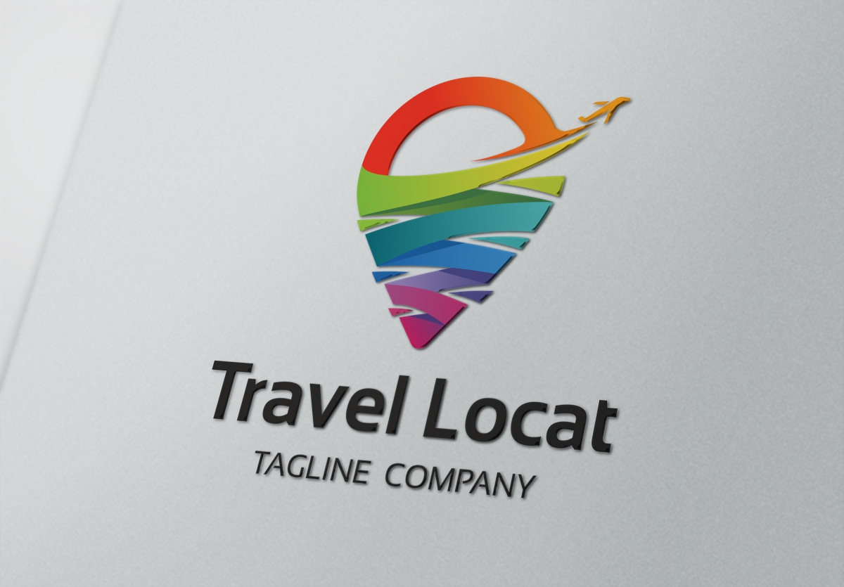 Travel Location - Logo Template