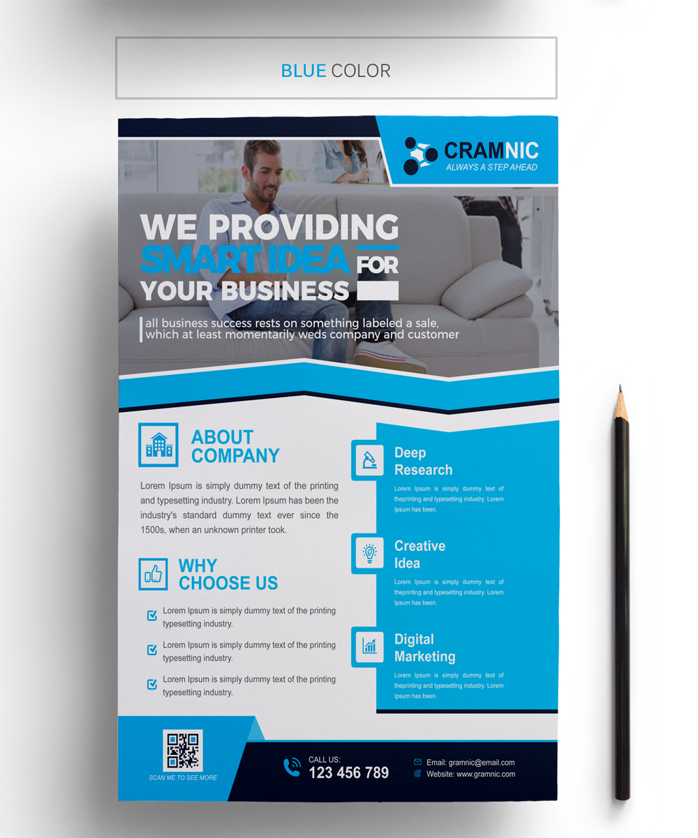 Cramnic Business Flyer Corporate Identity