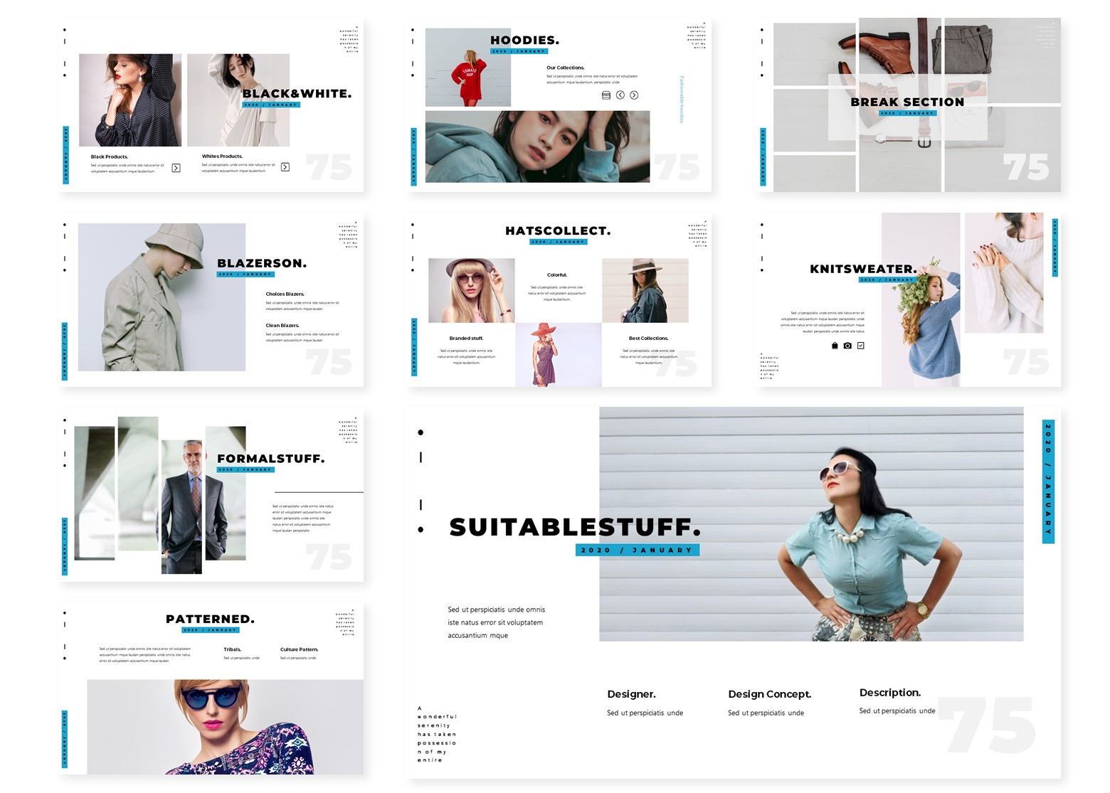 Clean | PowerPoint Template