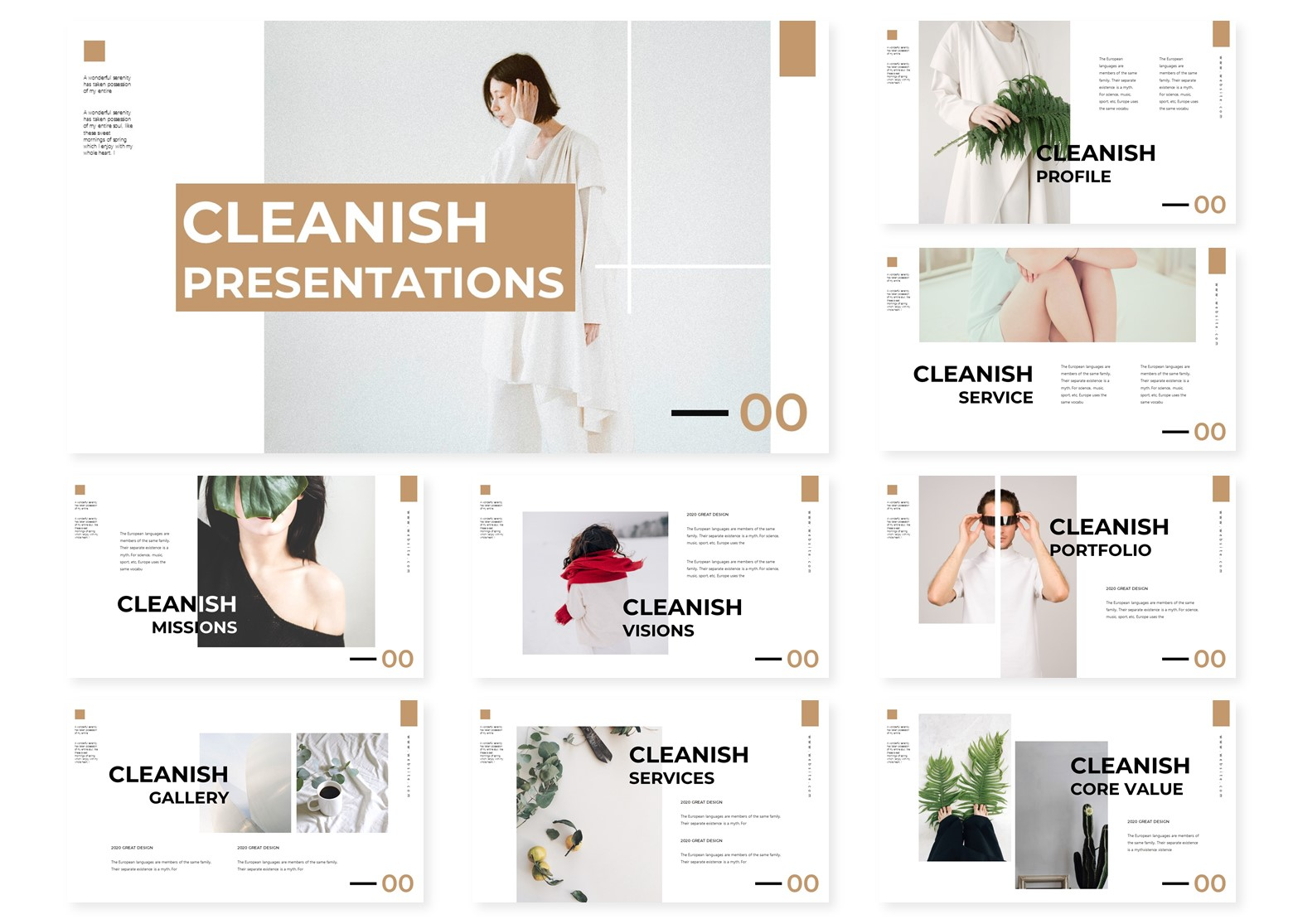Cleanish | PowerPoint Template