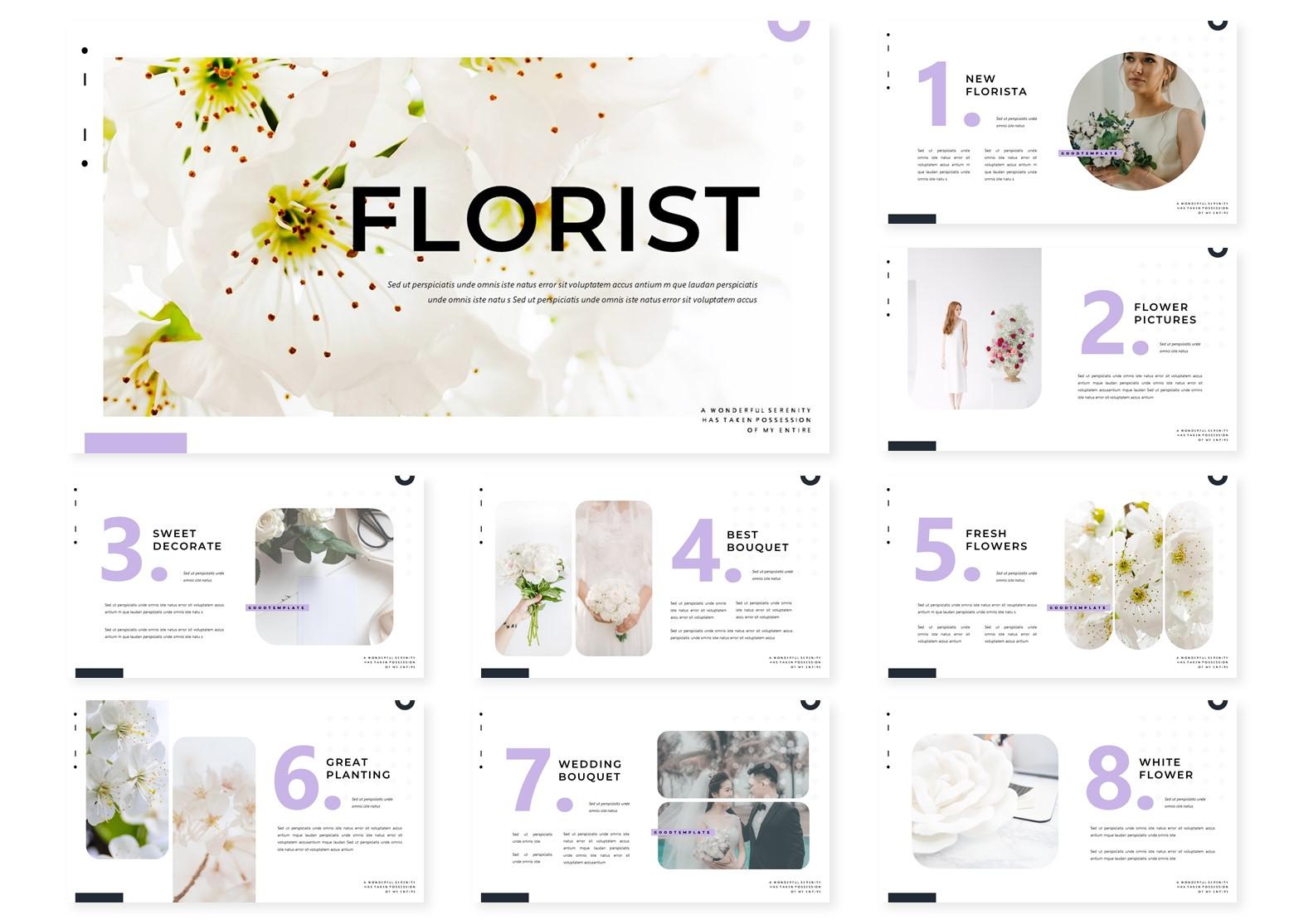 Florist | PowerPoint Template