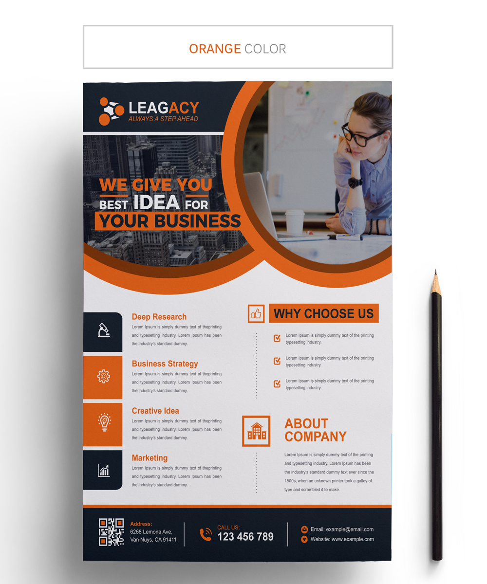 Creative Business Flyer - Corporate Identity