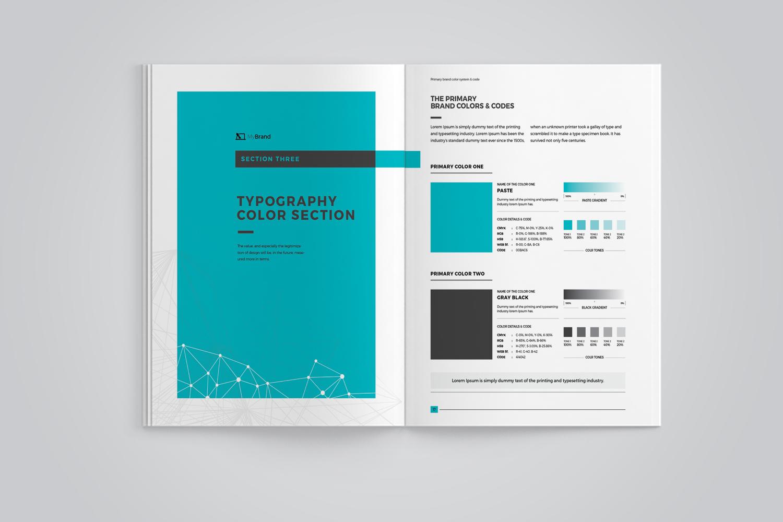 brand manual corporate identity