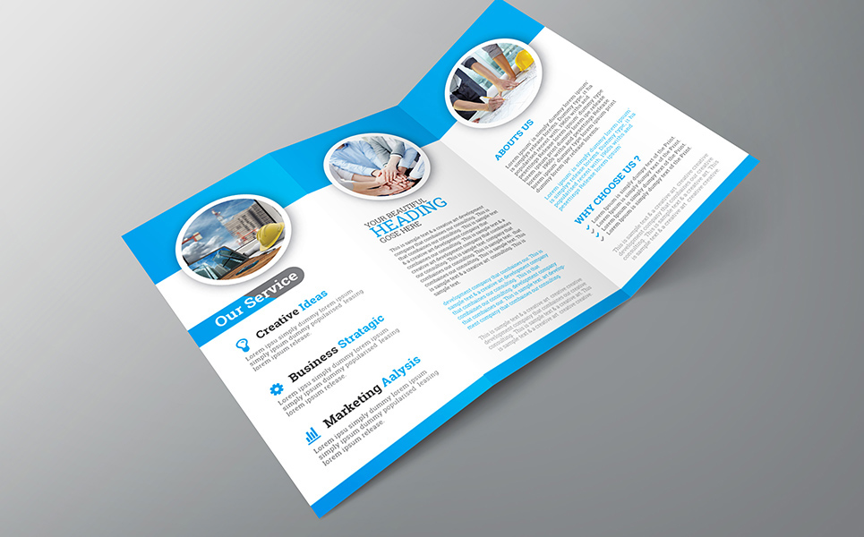 Corporate Trifold Brochure Corporate Identity