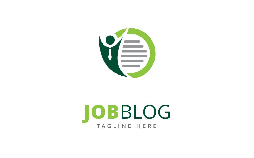 Job Blog - Logo Template