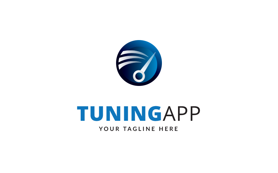 Tuning up - Logo Template