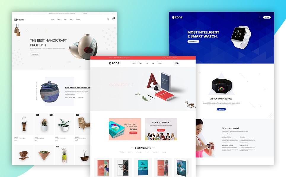 Ezone - eCommerce Website Template
