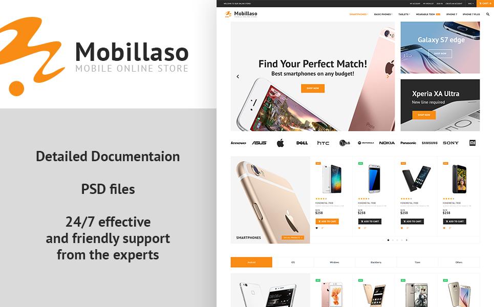 Mobillaso - Mobile Store PrestaShop Theme