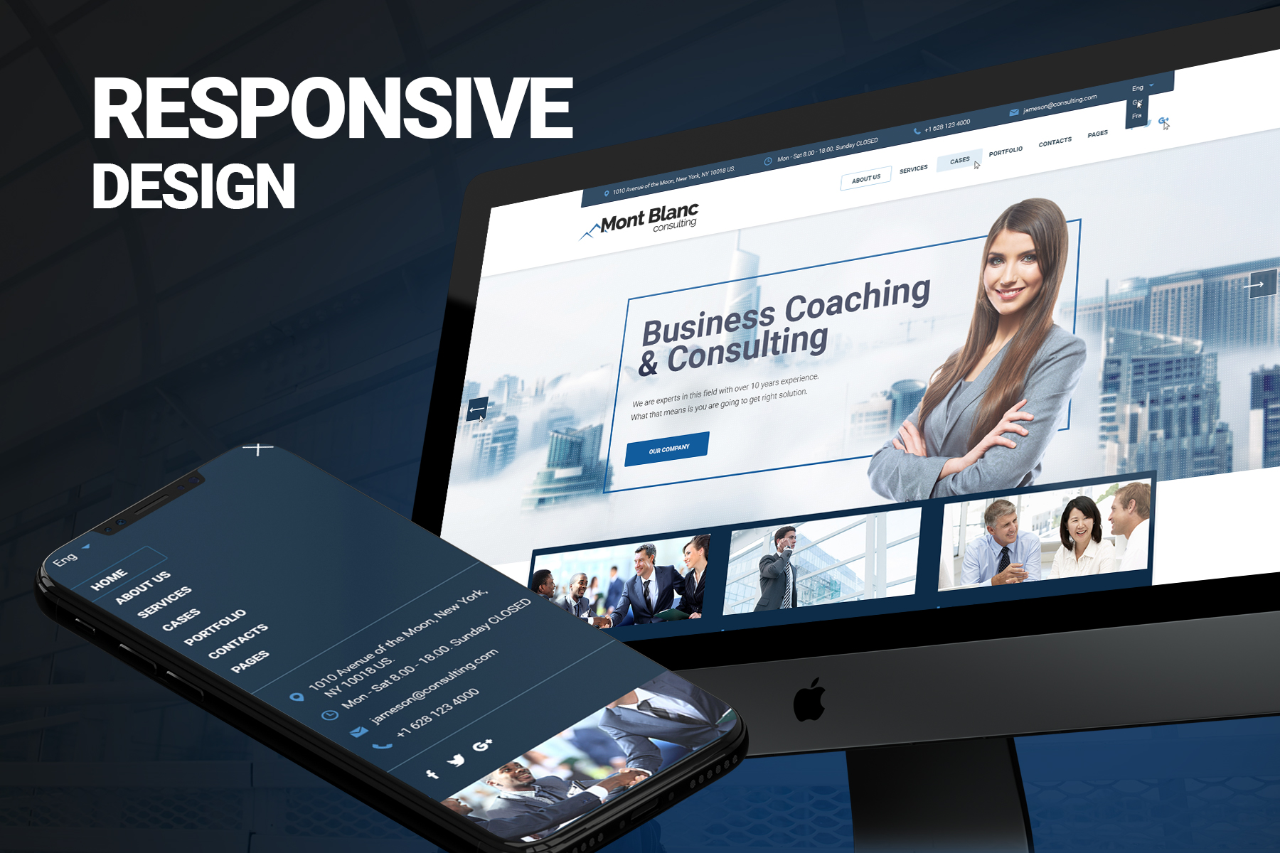 Jameson Consulting  - Consulting Firm Website Template