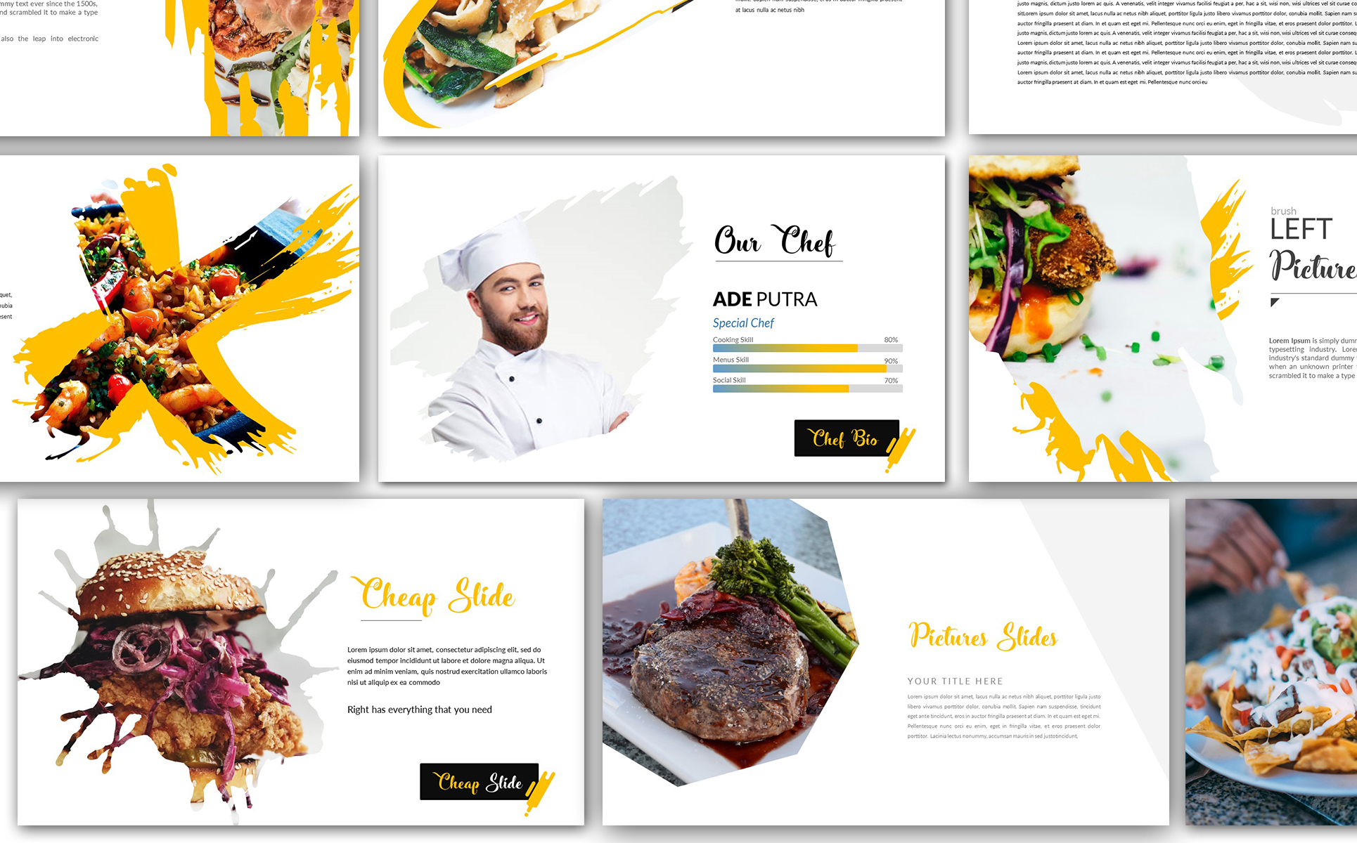 Cheap Delicious Presentation Keynote Template