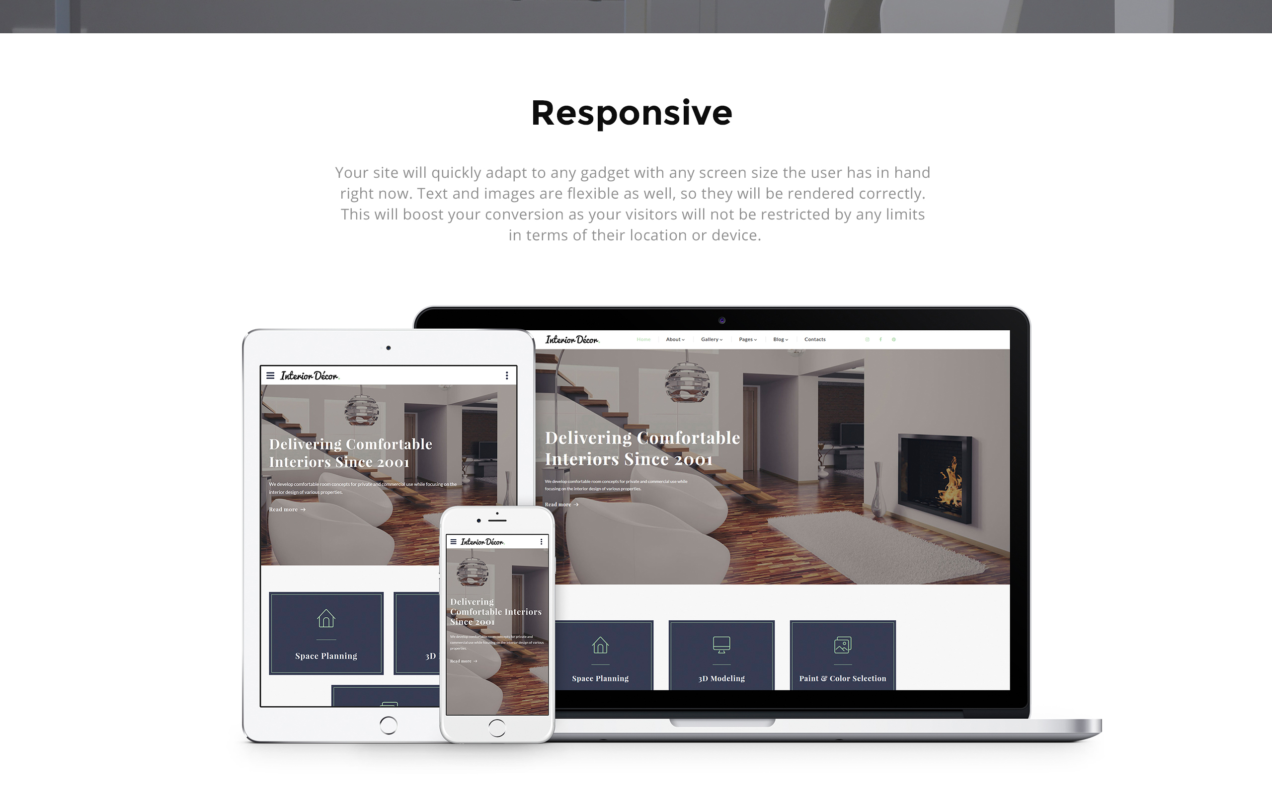 Interior Decor Website Template