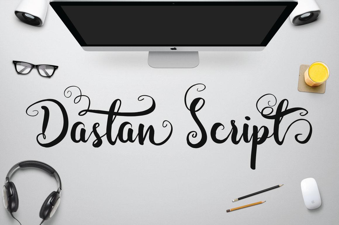 Dastan Script Fonts