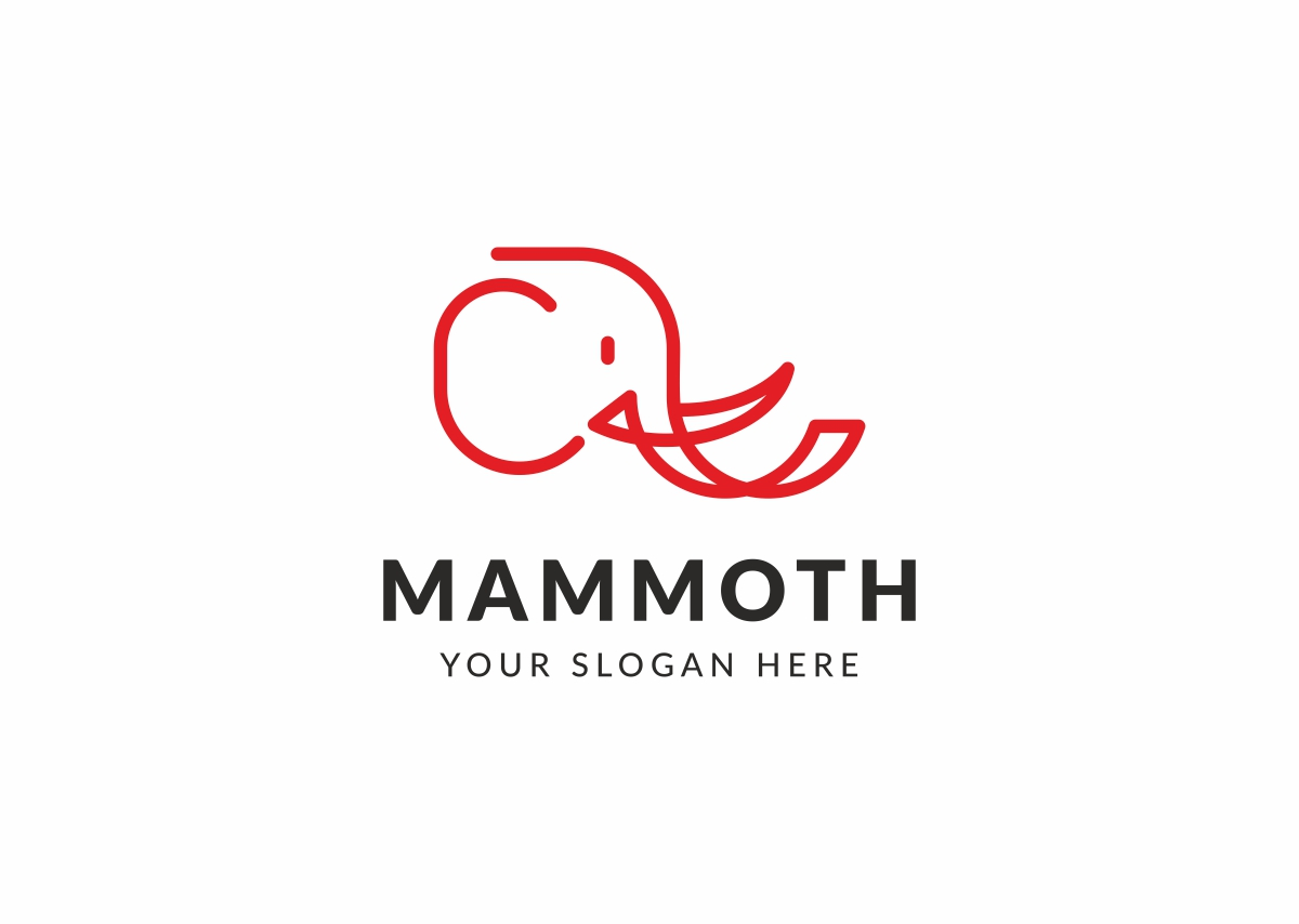 Mammoth Logo Template