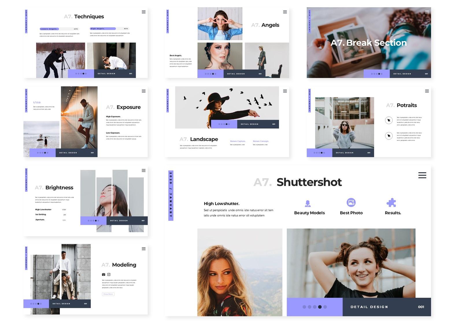 Photoshoot | PowerPoint Template