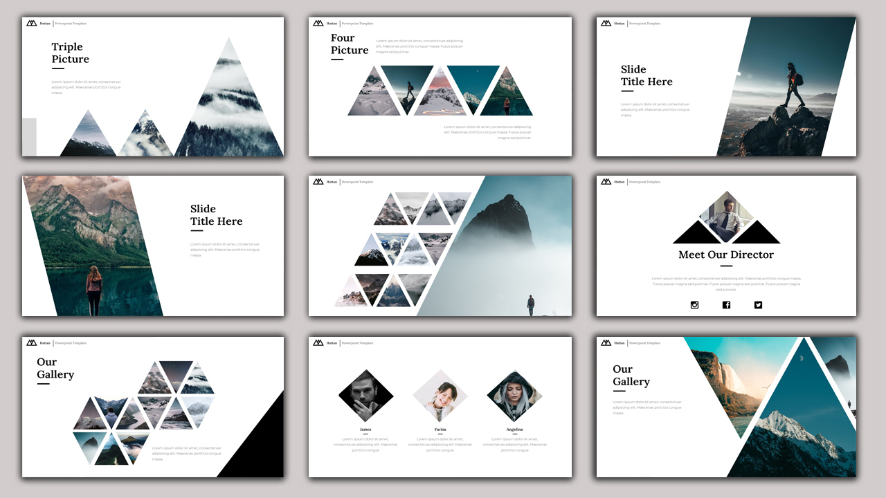 Business Pack Bundle  2 in 1 PowerPoint Template