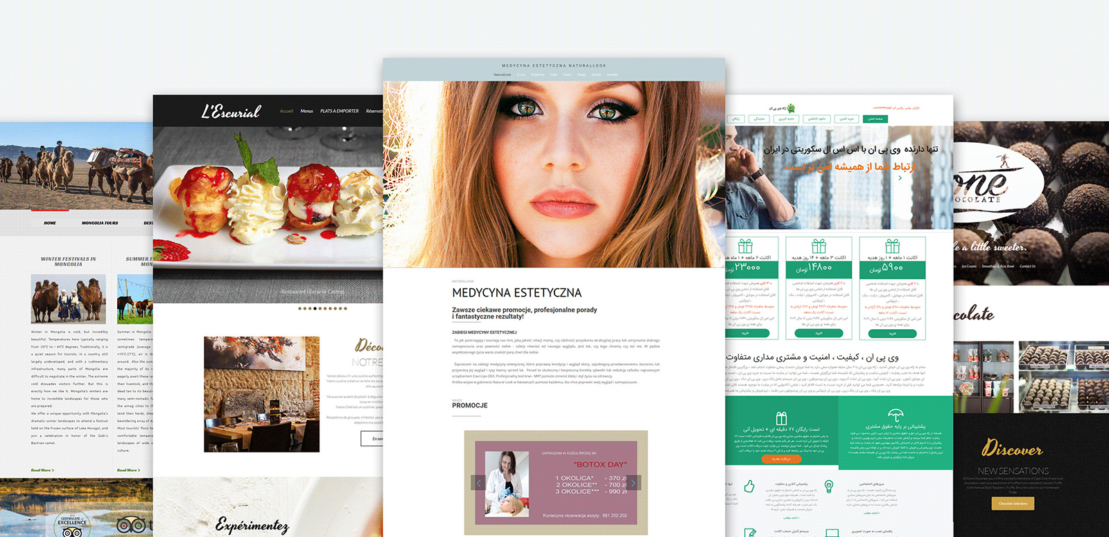 Panorax - Interior Design Moto CMS 3 Template