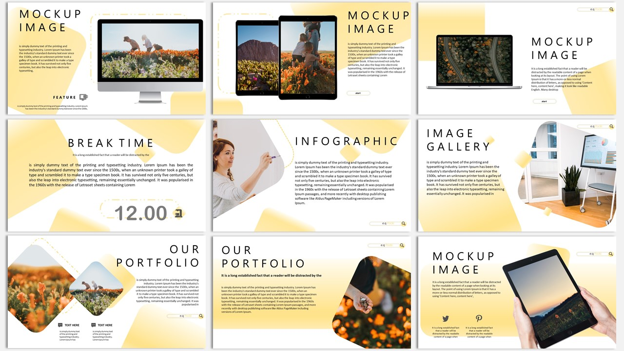 Pocki Creative Business PowerPoint Template