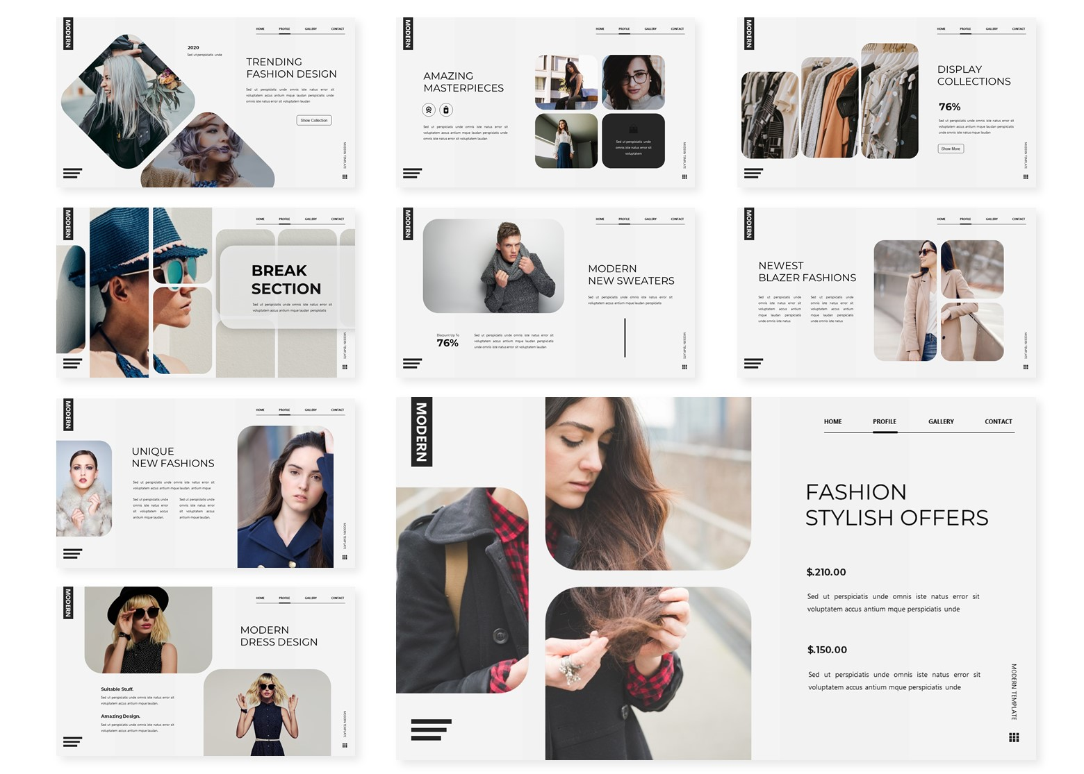 Fashionate   PowerPoint Template