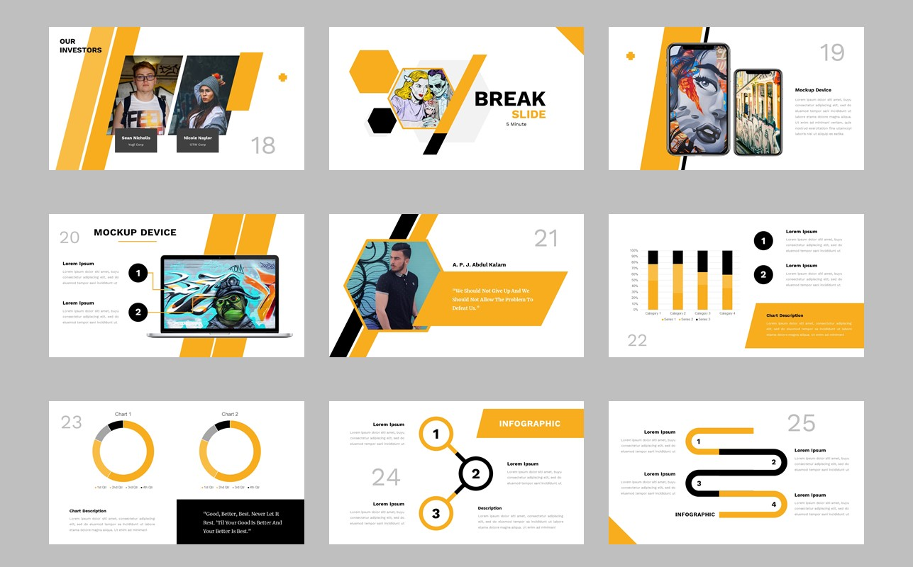 Yeloo PowerPoint Template