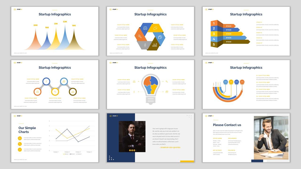Start Up PowerPoint Template
