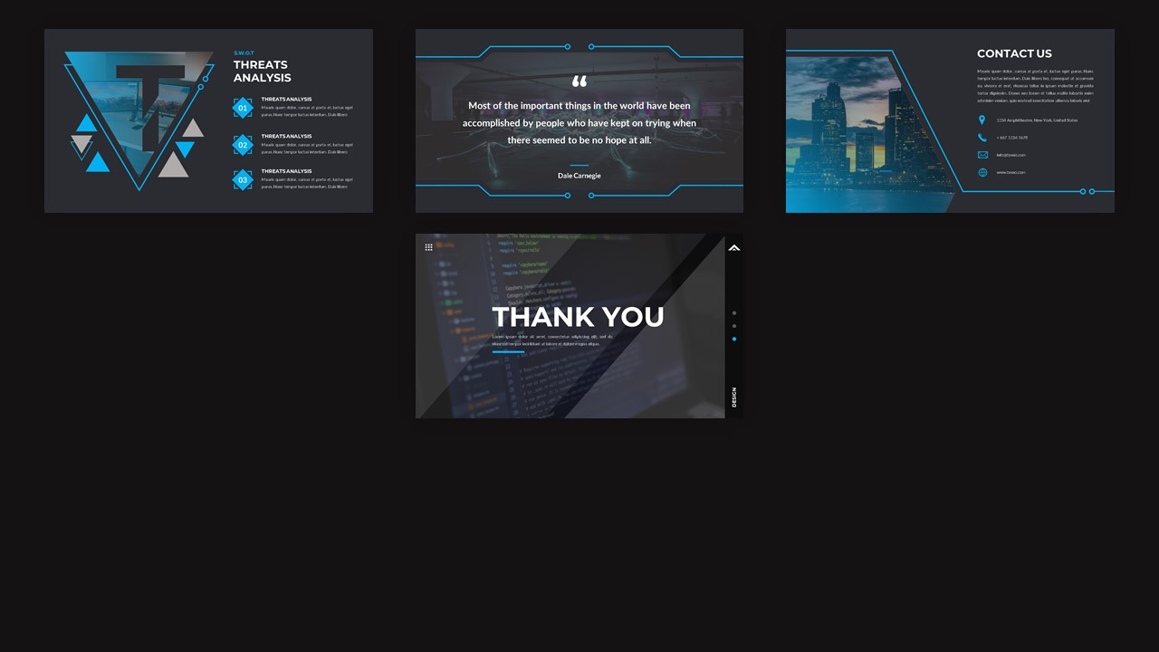 Texno - Technology PowerPoint Template