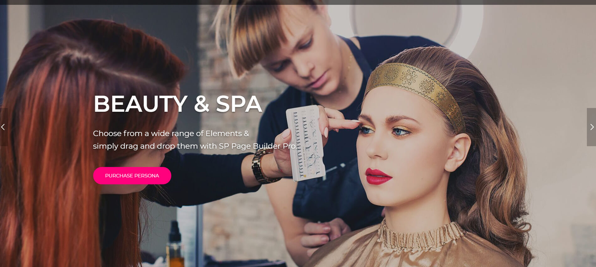 Persona- Beauty Salon & Spa Joomla Template