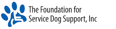 Foundation For Service Dog Support Logo