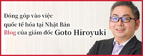 Giám đốc Goto Hiroyuki