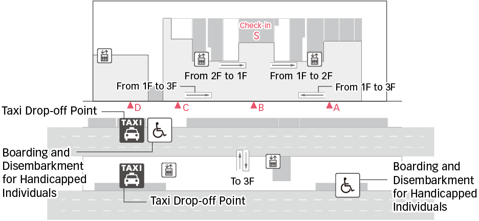 Taxi Drop-Off Point