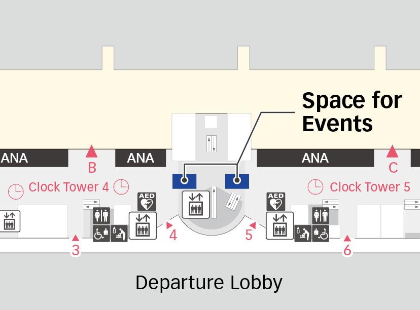 Terminal 2 2F Map