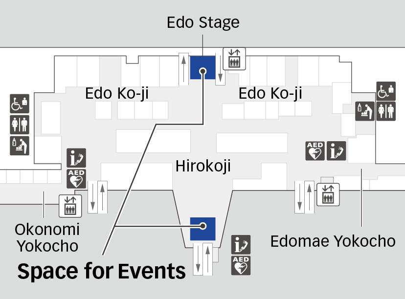Terminal 3 4F Map