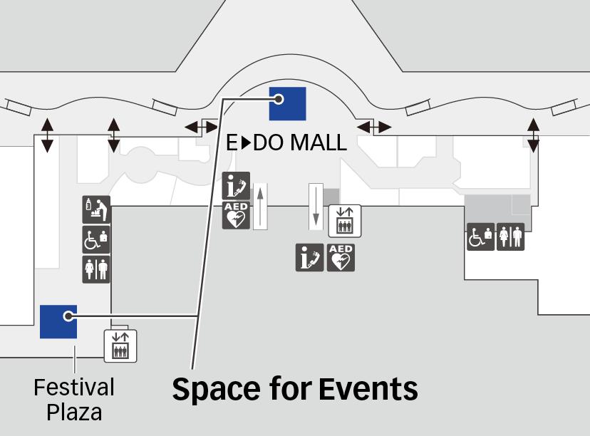 Terminal 3 5F Map