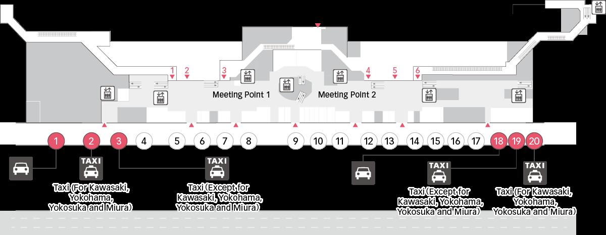 제 2 터미널 지도 이미지