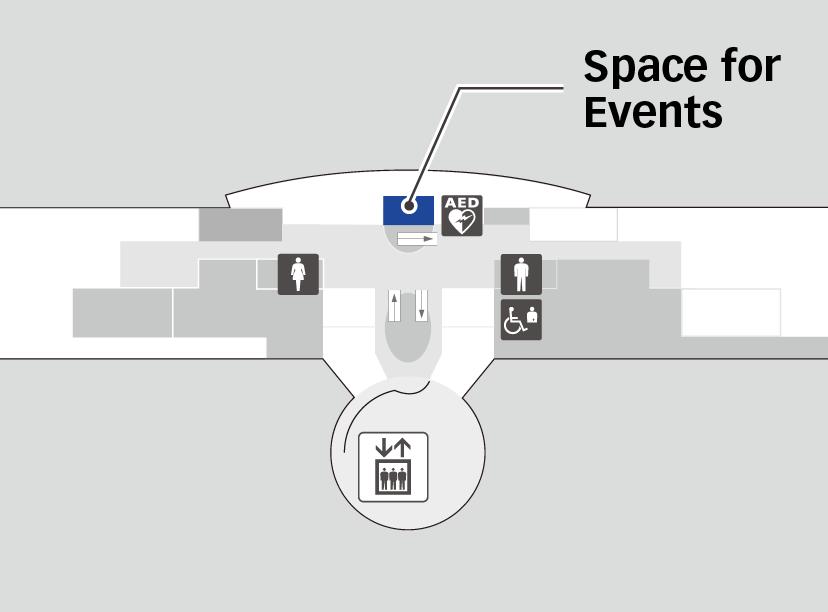 제2터미널 5F 지도