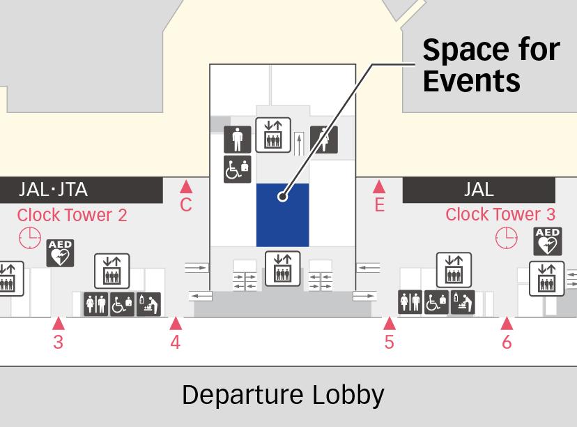 第1航站楼2F地图