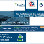 March Event Spotlight: APEC CBPR, IAPP Global Privacy Summit, Privacy Insight Series, GDPR Privacy Workshops