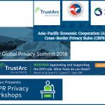 March Event Spotlight: APEC CBPR, IAPP Global Privacy Summit, Privacy Insight Series, GDPR Privacy Workshops