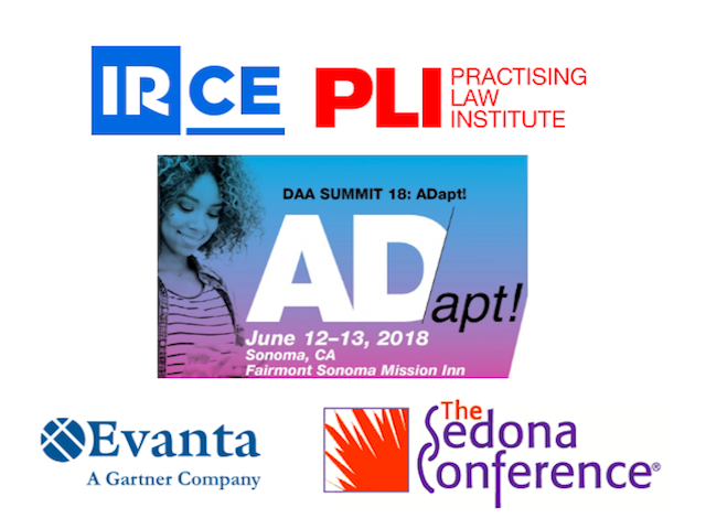 June Event Spotlight: IRCE, Privacy and Data Security Law Conference, DAA Summit, Sedona Conference, and CISO Executive Summit Q2!