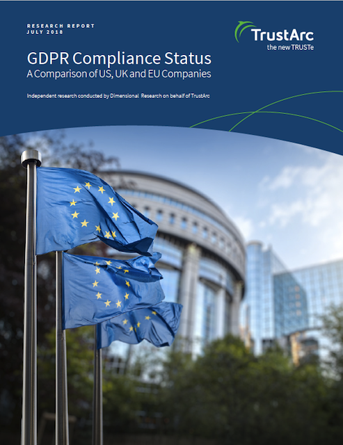 TrustArc GDPR Research, Part 3: Companies Are Most Compliant on Customer-Facing Issues, Such as Cookie Consent
