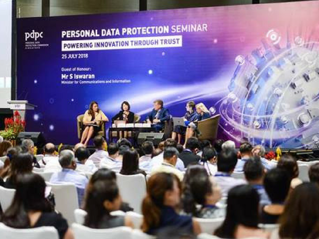 TrustArc General Counsel and Chief Data Governance Officer Hilary Wandall Panelist at Personal Data Protection Seminar 2018