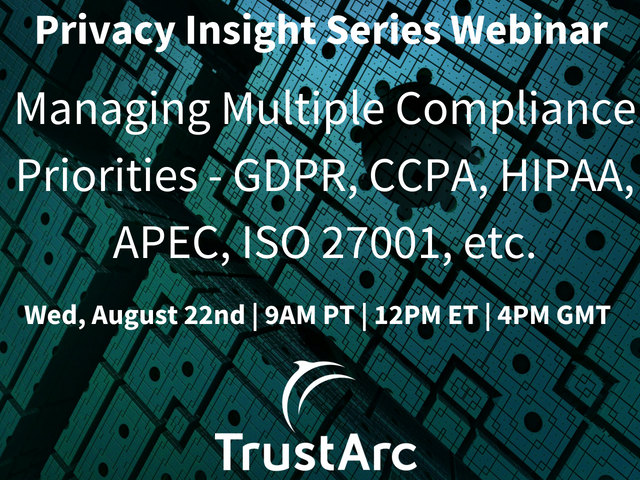 Privacy Insight Series Webinar July 6