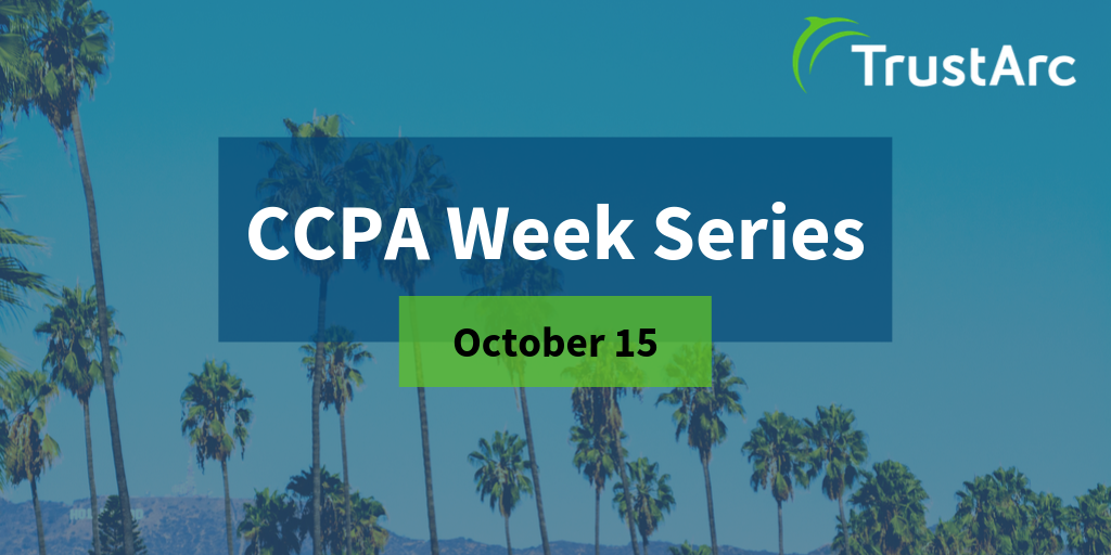 CCPA Week Series Issue 2 - Understanding the 4 Types of Consumer Notices