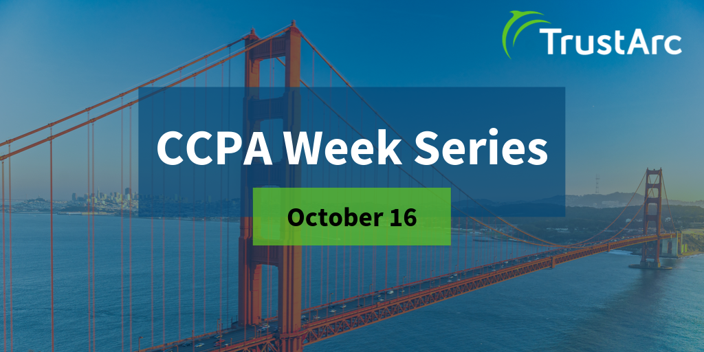 CCPA Week Series Issue 3 - Best Practices for Handling Consumer Requests