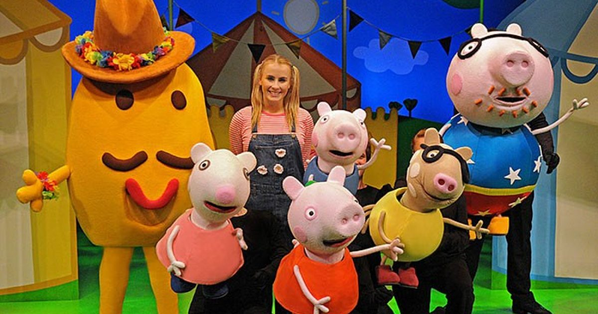 Image result for peppa pig theatre play