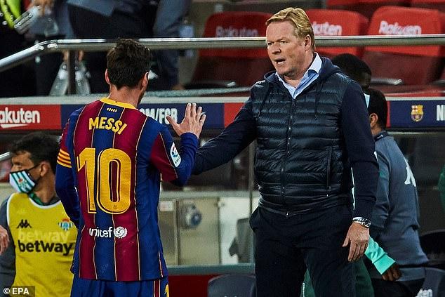 Ronald Koeman convencido de que Lionel Messi se QUEDARÁ en el Barcelona -  Tendencias Hoy
