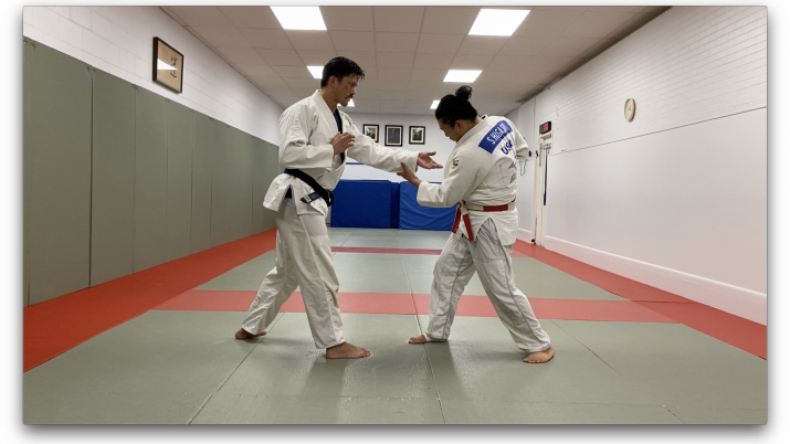 The Russian Tie Judo system