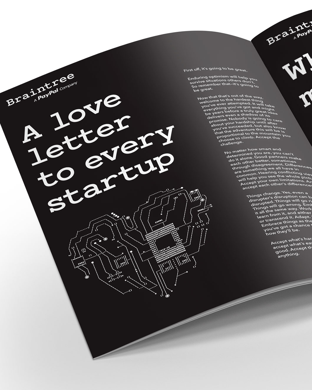 a love letter to every startup