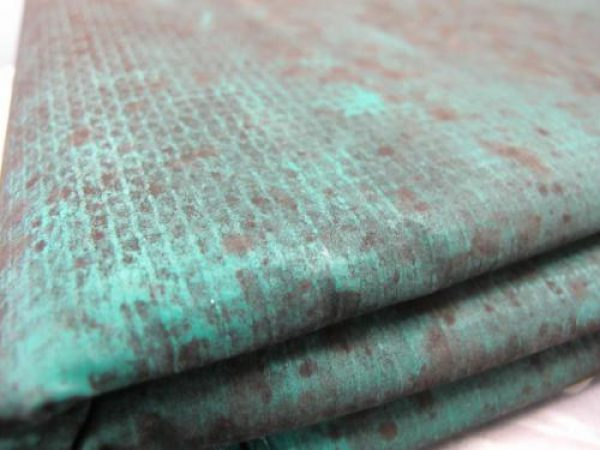Vinyl fabric with heavy amounts of fungal growth after use